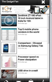 How to make a Nokia OVI app for your blog in minutes?
