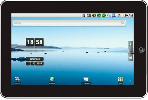 Zenithink ZT-180 ePad : 10 inch Android tablet in India for 10K