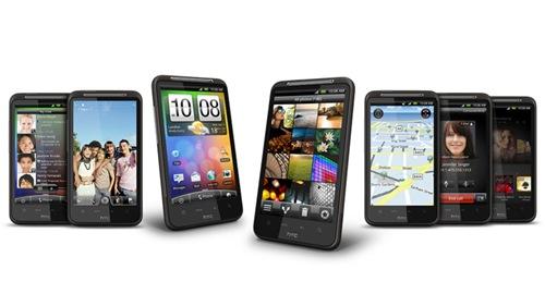 Comparison : HTC HD7 vs HTC Desire HD