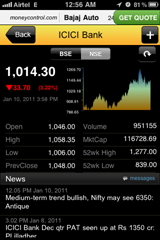 iPhone app : Moneycontrol [review]
