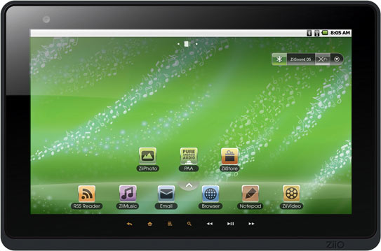Creative Ziio launches 2 Android tablets. But why?
