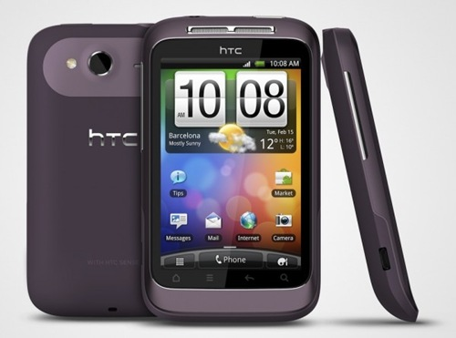 HTC's first touch screen phone [picture]
