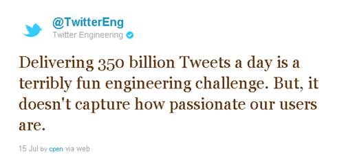 Twitter vs Google + : We are doing a billion, Well, we are doing 350 billion