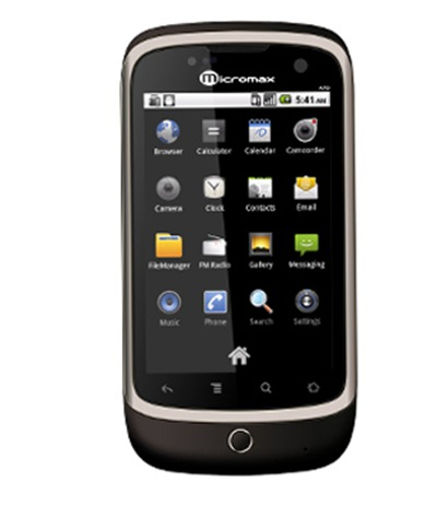 Micromax A70 cometh. India Price Rs. 7999