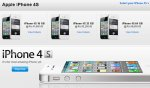 iPhone 4S in India. The cheapest starts at Rs. 41850