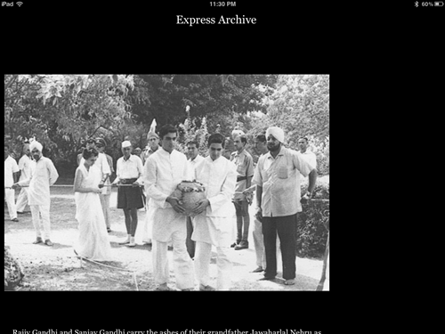 Indian Express iPad app [review]