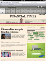 Financial Times India iPad app [review]