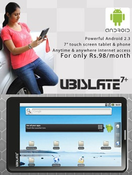 Ubislate 7 + : Sold out. Patience recommended.