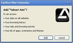 Yahoo Axis browser for iPad : Review