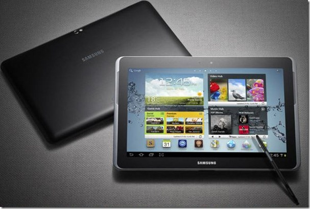 Samsung Galaxy Note 10.1 to be launched soon!