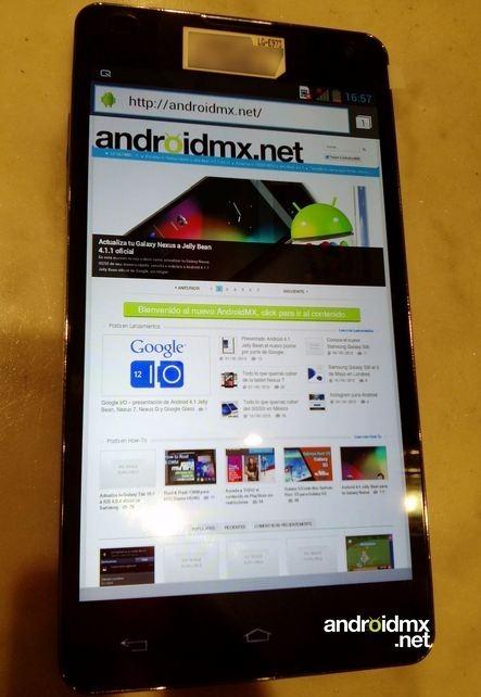 Quad Core powered 13mp LG Optimus E973 G images leaked