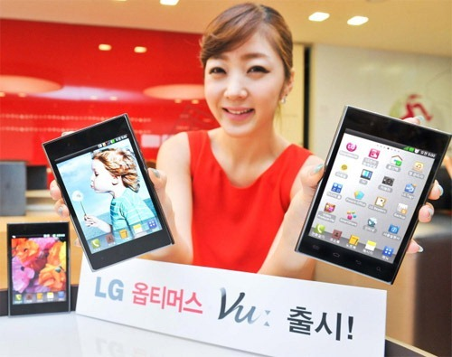 Quad Core LG Optimus VU to make Asia debut next month!