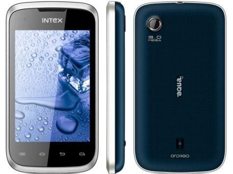 Intex Aqua 4 Android Smartphone launched at Rs 5490