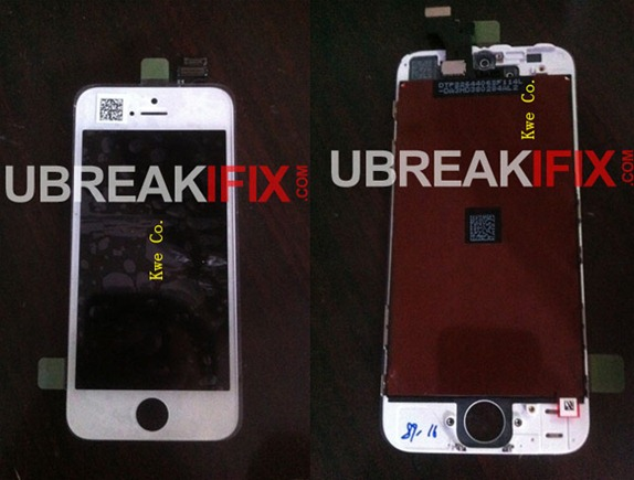 iPhone 5 Front Panel Images Leaked