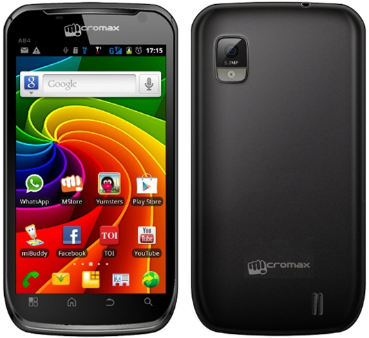 Micromax launches A84 Super phone Elite (on Android 2.3…Grrrr)
