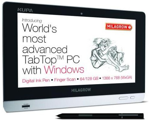 Milagrow Windows 7 Kupa Tab Top X11 launched for Rs. 54,990