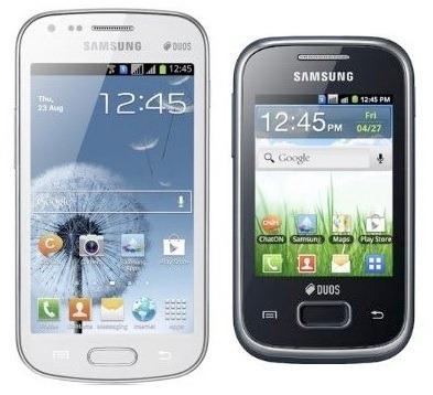 samsung phones dual sim
