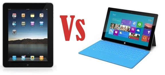 Surface is Good, but no iPad beater!