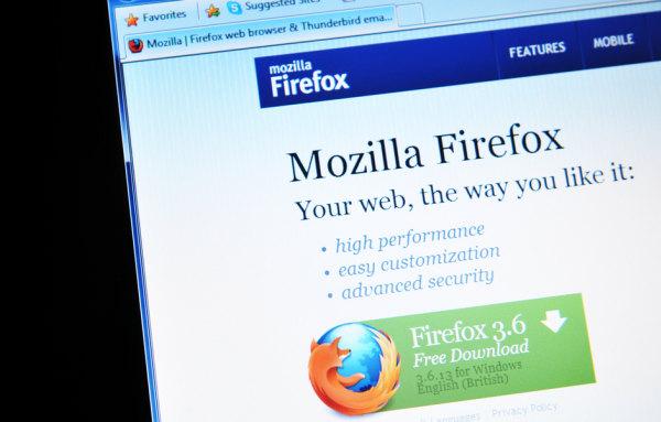 mozilla firefox web browser