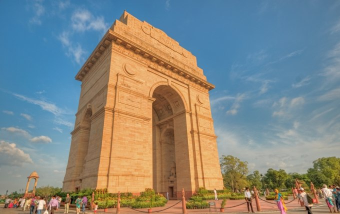 Android apps for new delhi tourists
