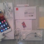 box contents - gionee elife s5.1 review
