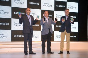 Samsung Launches Galaxy E7, E5, A5, and Galaxy A3 in India