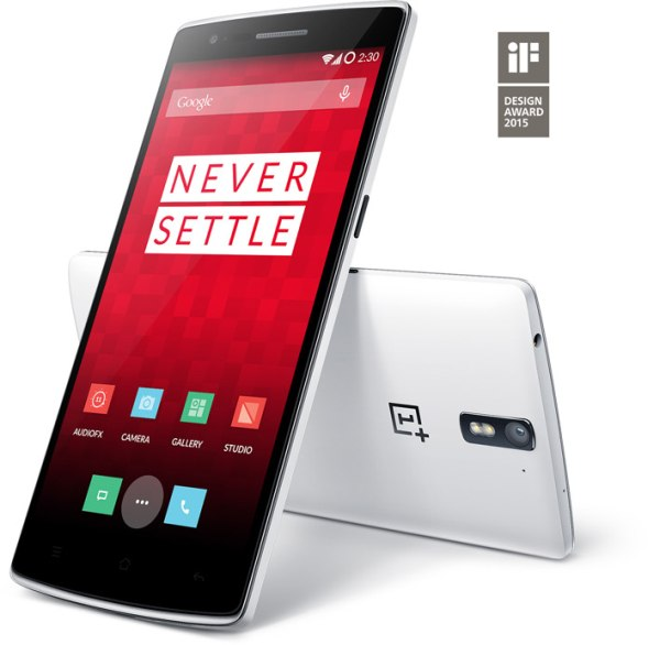 oneplus one 16 gb silk white tgf