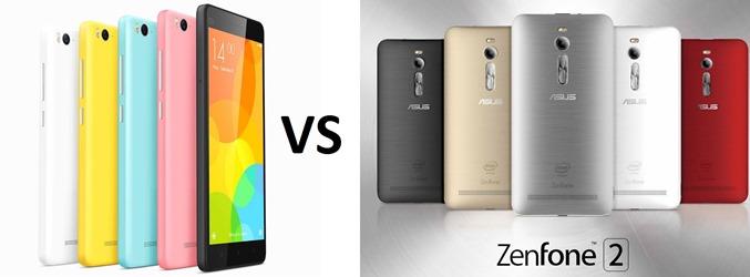 Xiaomi Mi 4i vs Zenfone 2