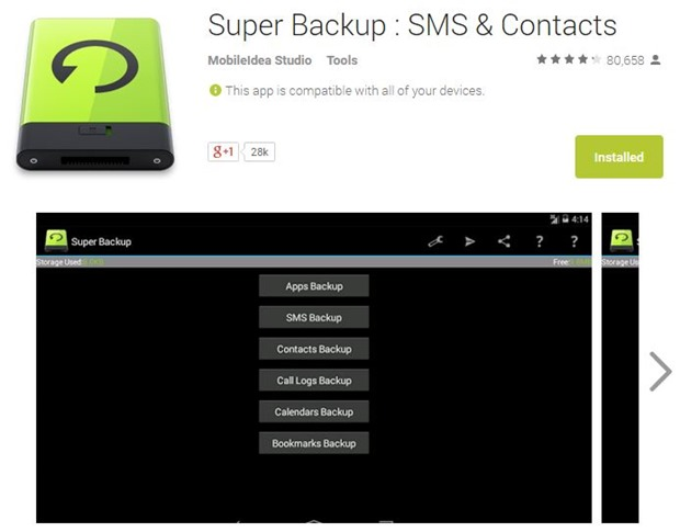 Top 5 Best Smartphone Backup Apps for Android 2015