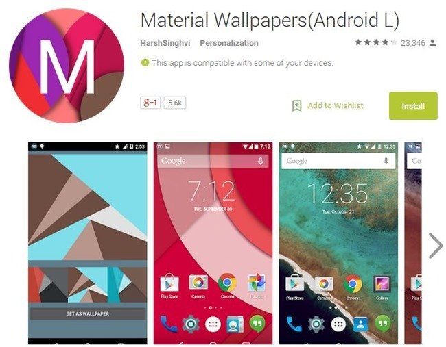 Best 5 Free Wallpaper Android Apps of 2015