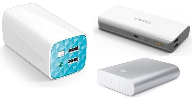 Top 5 Power Banks To Buy in India [2015]