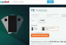 Yu Yunique With 4G, 1GB RAM Launches on Snapdeal Priced Rs. 4,999/