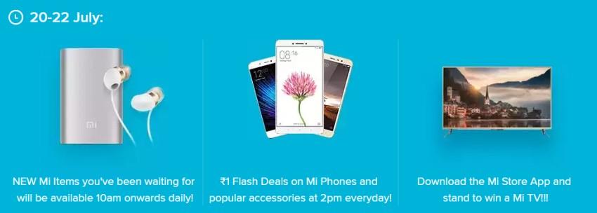 Xiaomi nonstop deals