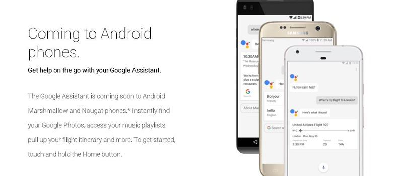 Google Assistant Android phone