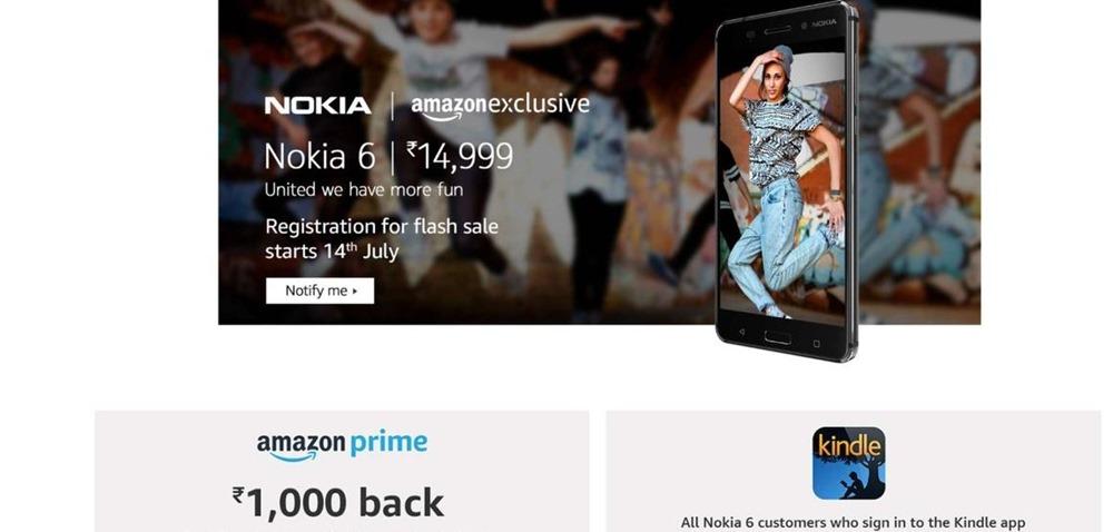 Nokia 6 Amazon Exclusive