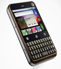 Motorola Charm to charm India for Rs. 13499!