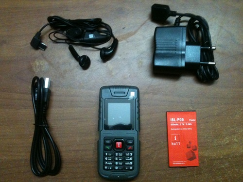 iBall Asaan :  Senior citizen phone [pictures]