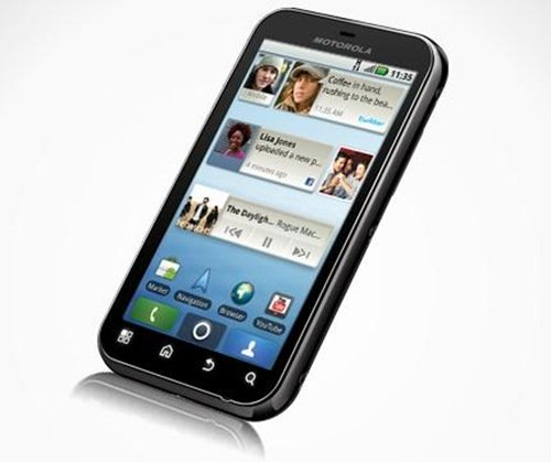 Motorola Defy – Dust proof, water resistant Android phone in India!