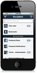 iPhone app: Social browser Rockmelt to get one!