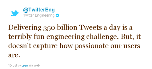 Twitter vs Google + : We are doing a billion, Well, we are doing 350 billion