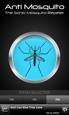A mosquito repellent app [android]
