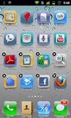 Turn your Android phone to an iPhone 4S with Espier Launcher