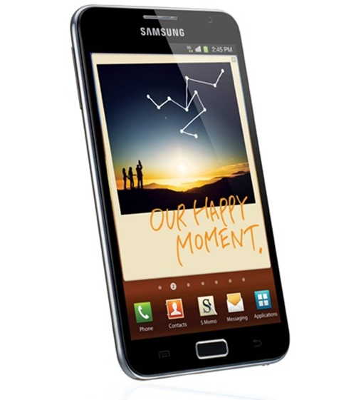 Samsung Galaxy Note up for pre-order on Infibeam. Price :Rs. 34990
