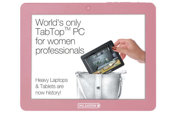 Milagrow turns sexist : Launches a ladies tablet