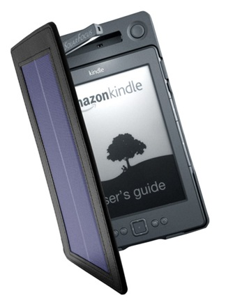 Charge your Kindle while you read with SolarKindle
