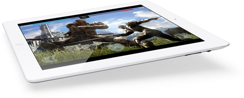 New iPad : 265 Pixels per inch, A5X quad-core graphics and 5 MP camera