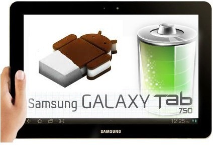 Samsung rolls out Android 4.0 update for Galaxy Tab 750 in India