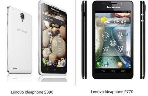 Lenovo Ideaphones S890 P770