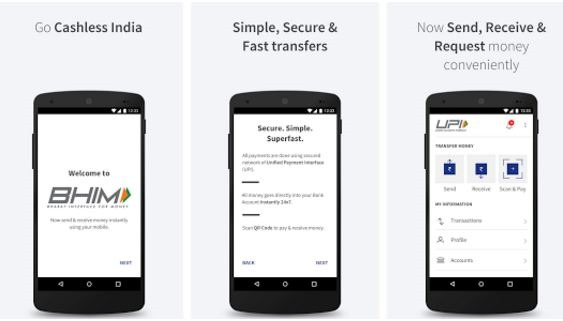 BHIM App Update gets major update; Now supports more Indian language,Privacy controls and Span reports.